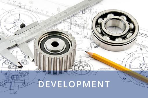 Die einzelnen Abteilungen laufen in der Entwicklung zusammen