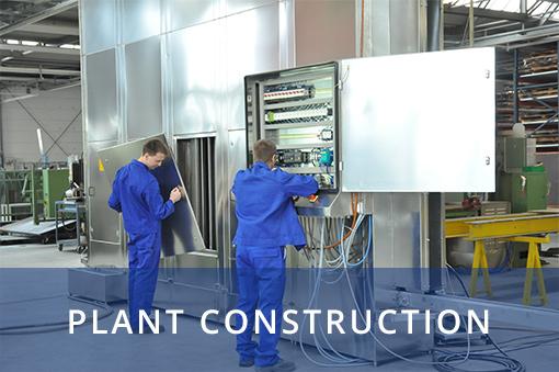 In unserem Anlagenbau sind wir vielschichtig und kreativ für Sie im Einsatz