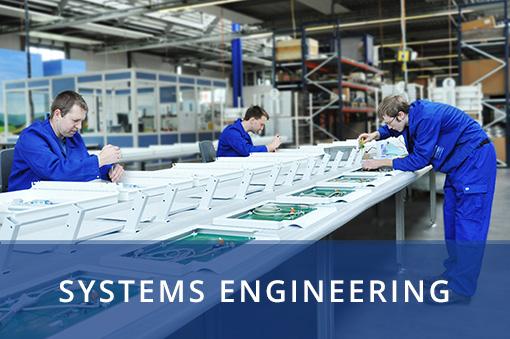 In der Serienfertigung werden Systeme hergestellt